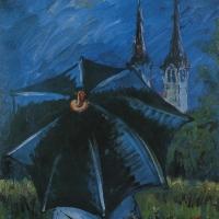 Rain in Polje